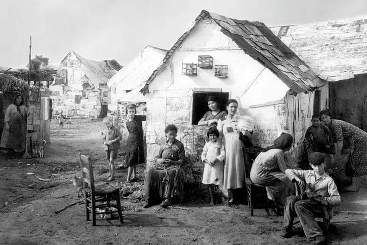 Zabal de Barbate en 1938